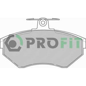 PROFIT 5000-1312 Колодки гальмівні дискові