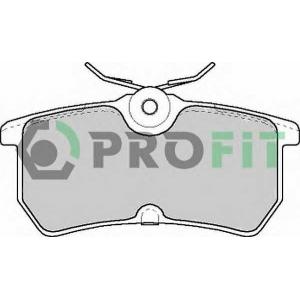 PROFIT 5000-1319 Колодки гальмівні дискові