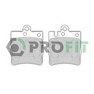 PROFIT 5000-1322 Колодки гальмівні дискові