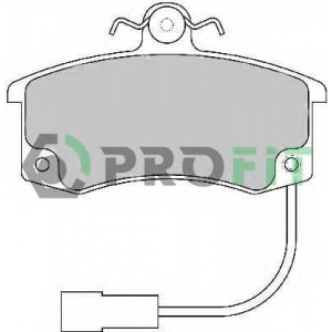PROFIT 5000-1325 Колодки гальмівні дискові