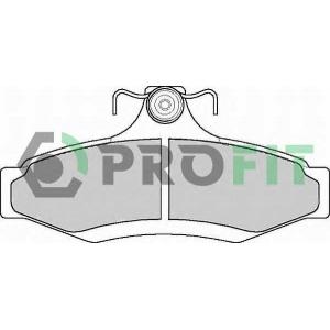 PROFIT 5000-1336 Колодки гальмівні дискові