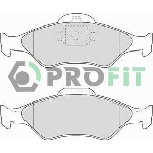 PROFIT 5000-1393 Колодки гальмівні дискові