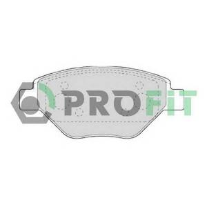 PROFIT 5000-1409 C Колодки гальмівні дискові