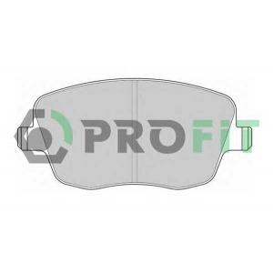 PROFIT 5000-1419 Колодки гальмівні дискові