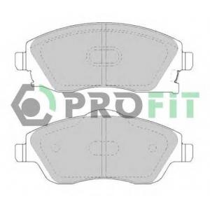 PROFIT 5000-1424 Колодки гальмівні дискові