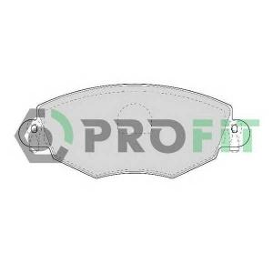PROFIT 5000-1425 Колодки гальмівні дискові