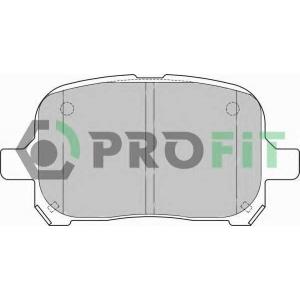 PROFIT 5000-1437 Колодки гальмівні дискові