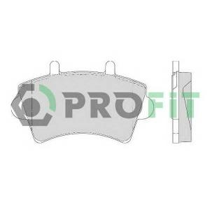 PROFIT 5000-1452 Колодки гальмівні дискові
