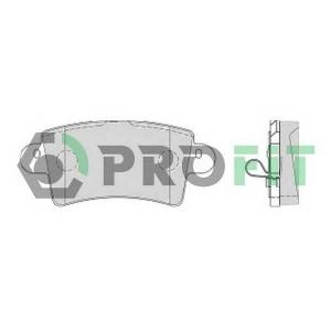 PROFIT 5000-1453 Колодки гальмівні дискові