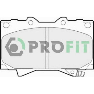 PROFIT 5000-1456 Колодки гальмівні дискові