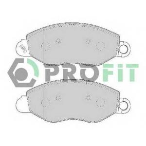 PROFIT 5000-1461 Колодки гальмівні дискові