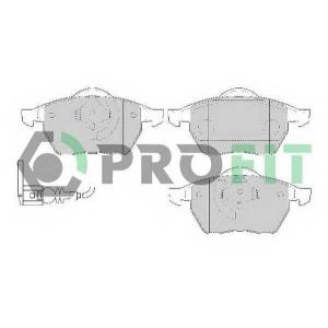 PROFIT 5000-1463 Колодки гальмівні дискові