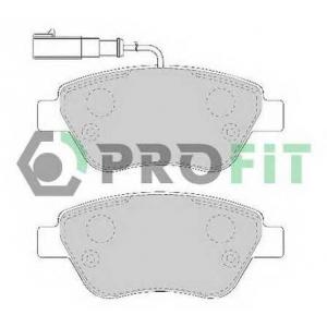 PROFIT 5000-1466 Колодки гальмівні дискові