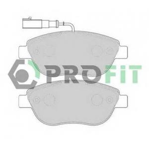 PROFIT 5000-1467 Колодки гальмівні дискові