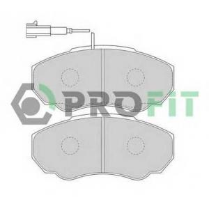 PROFIT 5000-1478 Тормозные колодки передние Jumper2/Boxer2 1.4T