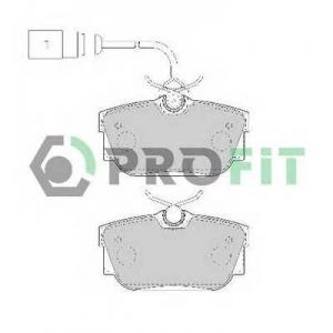 PROFIT 5000-1482 Колодки гальмівні дискові