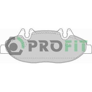 PROFIT 5000-1493 Колодки гальмівні дискові