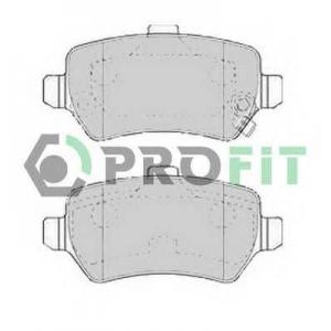 PROFIT 5000-1521 Колодки гальмівні дискові