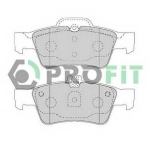 PROFIT 5000-1526 Колодки гальмівні дискові