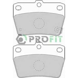 PROFIT 5000-1531 Колодки гальмівні дискові