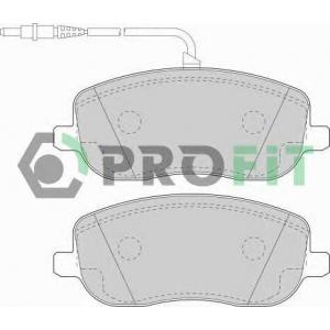 PROFIT 5000-1556 Колодки гальмівні дискові