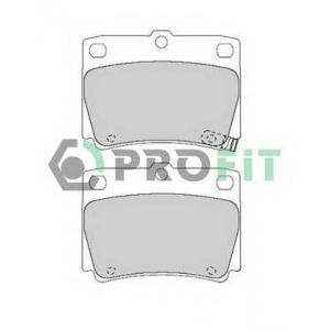 PROFIT 5000-1570 Колодки гальмівні дискові
