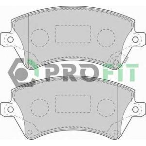 PROFIT 5000-1573 Колодки гальмівні дискові