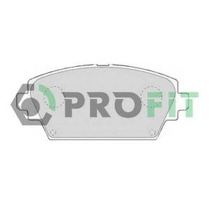 PROFIT 5000-1580 Колодки гальмівні дискові