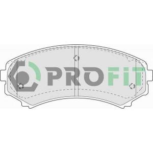 PROFIT 5000-1603 Колодки гальмівні дискові