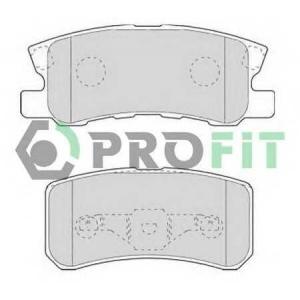 PROFIT 5000-1604 Колодки гальмівні дискові