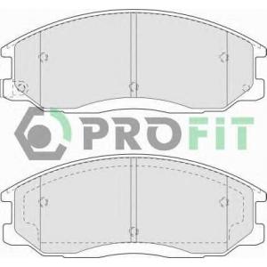 PROFIT 5000-1605 Колодки гальмівні дискові