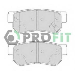 PROFIT 5000-1606 Колодки гальмівні дискові