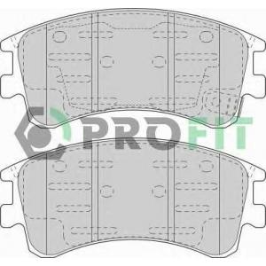 PROFIT 5000-1619 Колодки гальмівні дискові
