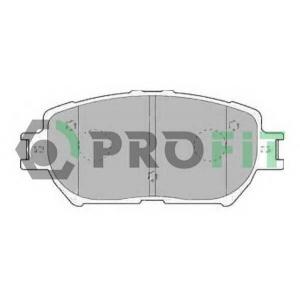 PROFIT 5000-1620 Колодки гальмівні дискові