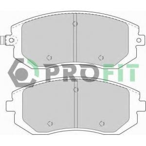 50001639 profit Комплект тормозных колодок, дисковый тормоз SUBARU IMPREZA седан 1.6 AWD