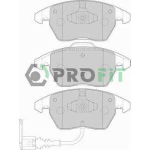 PROFIT 5000-1641 Колодки гальмівні дискові