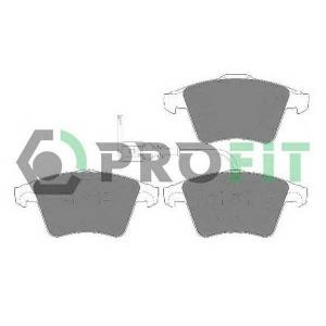 PROFIT 5000-1643 C Колодки гальмівні дискові