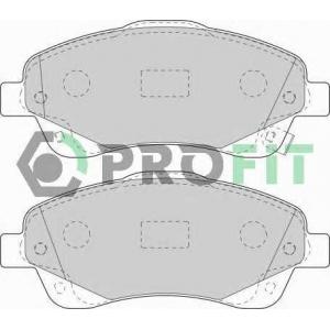 PROFIT 5000-1648 Колодки гальмівні дискові
