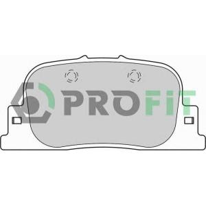 PROFIT 5000-1686 Колодки гальмівні дискові