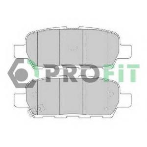 PROFIT 5000-1693 Колодки гальмівні дискові