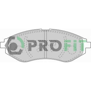 PROFIT 5000-1699 Колодки гальмівні дискові