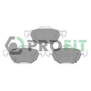 PROFIT 5000-1704 Колодки гальмівні дискові