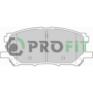 PROFIT 5000-1715 C Колодки гальмівні дискові