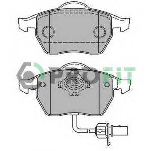 PROFIT 5000-1717 Колодки гальмівні дискові