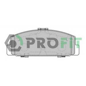 PROFIT 5000-1721 Колодки гальмівні дискові