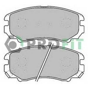 PROFIT 5000-1733 C Колодки гальмівні дискові