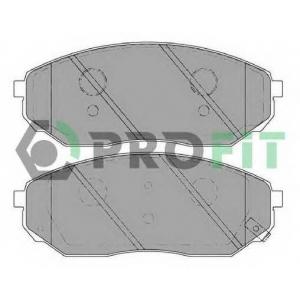 PROFIT 5000-1735 C Колодки гальмівні дискові