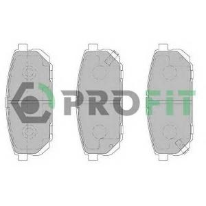 PROFIT 5000-1736 C Колодки гальмівні дискові