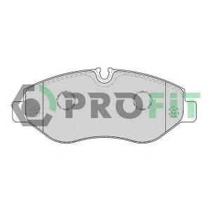 PROFIT 5000-1778 Колодки гальмівні дискові