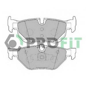PROFIT 5000-1807 C Колодки гальмівні дискові